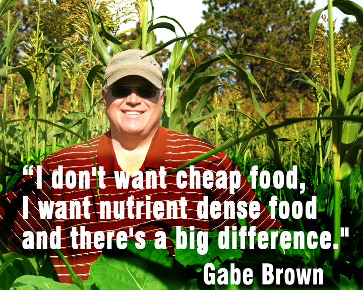 Gabe Brown nutrient dense food