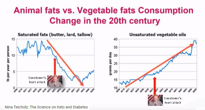 fats- chart of animal vs veg fats